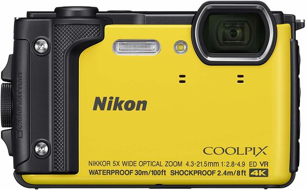 Coolpix: W300 Waterproof Digital Camera - Yellow (Includes Silicon Jacket)