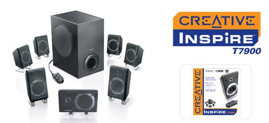 CREATIVE LABS Creative T7900 7.1 Speakers
