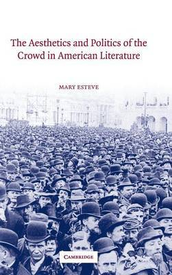 Cambridge Studies in American Literature and Culture: Series Number 135 by Mary Esteve