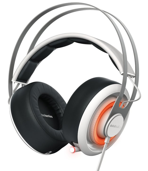 Steel Series Siberia 650 Gaming Headset - White for PC Games
