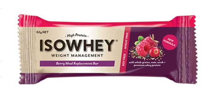 IsoWhey Meal Replacement Bar - Berry (62g x 12) image
