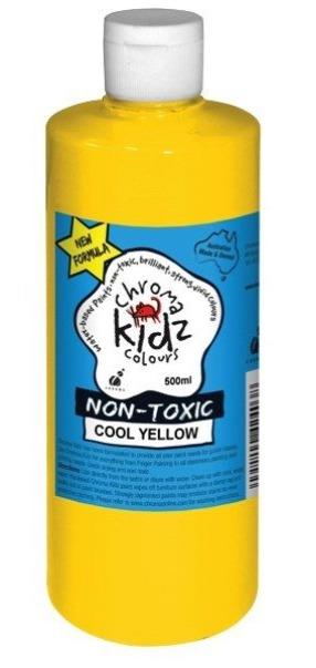 Chroma: Kidz Paint - Cool Yellow (500ml)