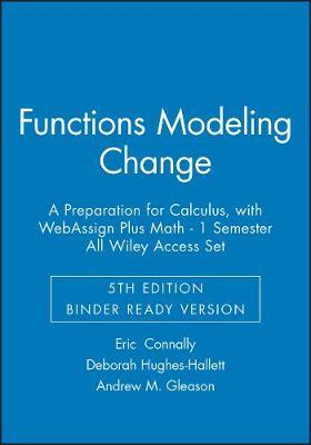 Functions Modeling Change by Eric Connally