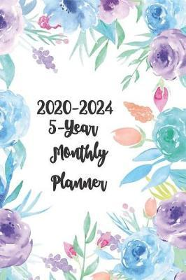 2020-2024 5-Year Monthly Planner 6x9 by Prestige