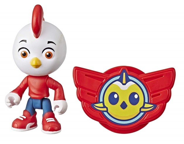 "Top Wing: Rod - 3"" Action Figure & Badge"