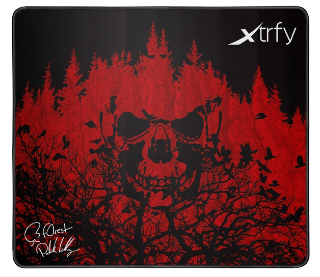 XTRFY XTP1 Gaming Mousepad - Large f0rest for PC