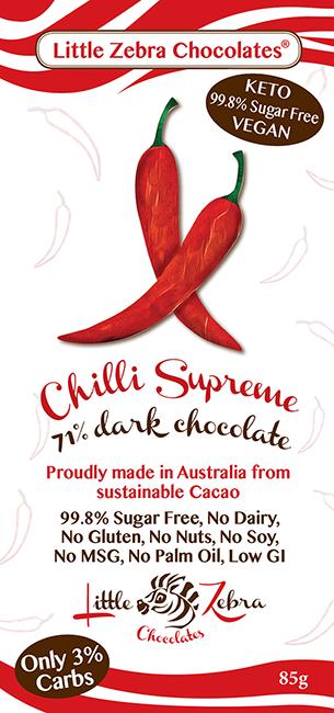 Little Zebra Chocolates: Chilli Supreme
