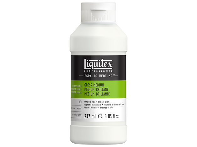 Liquitex: Gloss Fluid - Medium & Varnish (237ml)