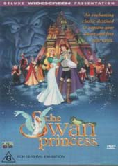 The Swan Princess on DVD