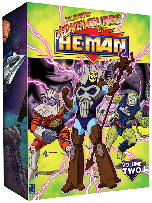 New Adventures Of He-Man, The - Vol. 2 (6 Disc Box Set) on DVD