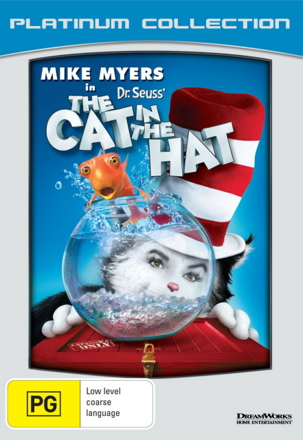 The Cat In The Hat (Dr Seuss') (2003) (Platinum Collection) on DVD