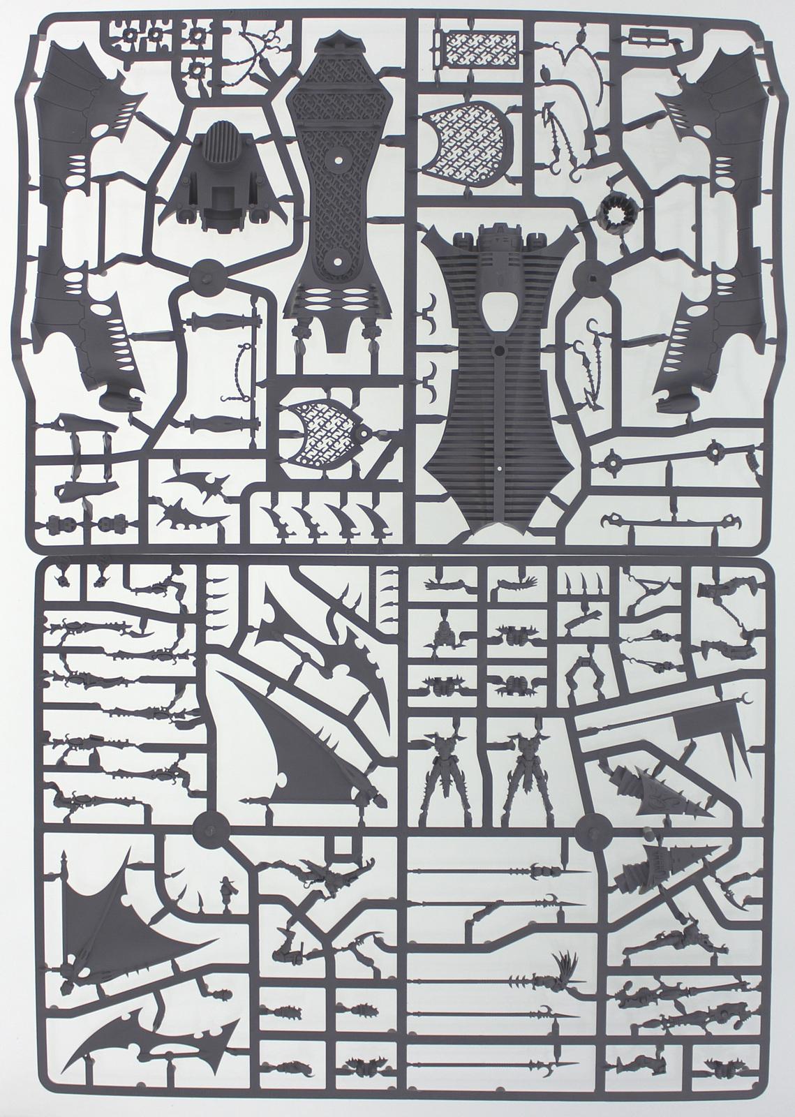 Warhammer 40,000 Dark Eldar Raider image