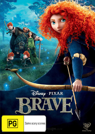 Brave on DVD image