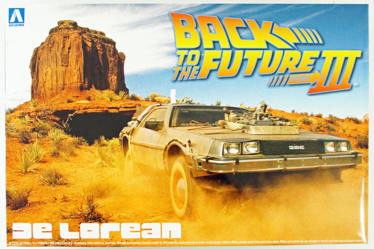 124 Back To The Future Delorean Part 3 Model Kitset At