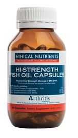 Ethical Nutrients Hi-Strength Fish Oil (60 Capsules)
