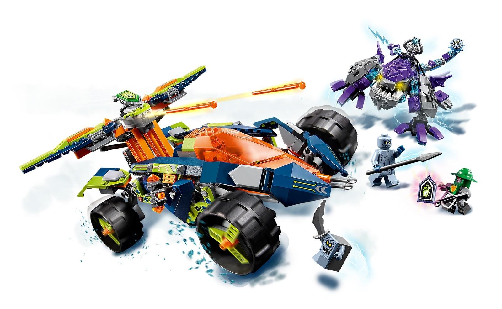 LEGO Nexo Knights - Aaron's Rock Climber (70355) image