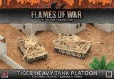 Flames of War: Afrika Korps Tiger Heavy Tank Platoon