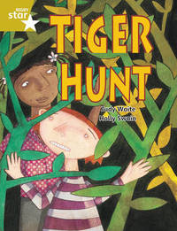 Rigby Star Guided 2 Gold Level: Tiger Hunt Pupil Book (single) by Judy Waite image