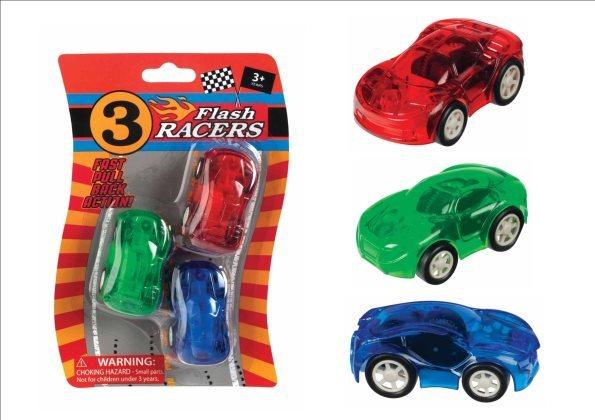 Toysmith: Flash Racers (Set of 3)