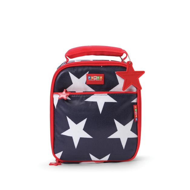 Navy Star School Lunchbox