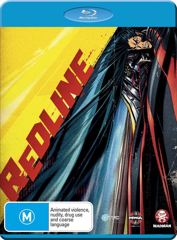 Redline on Blu-ray