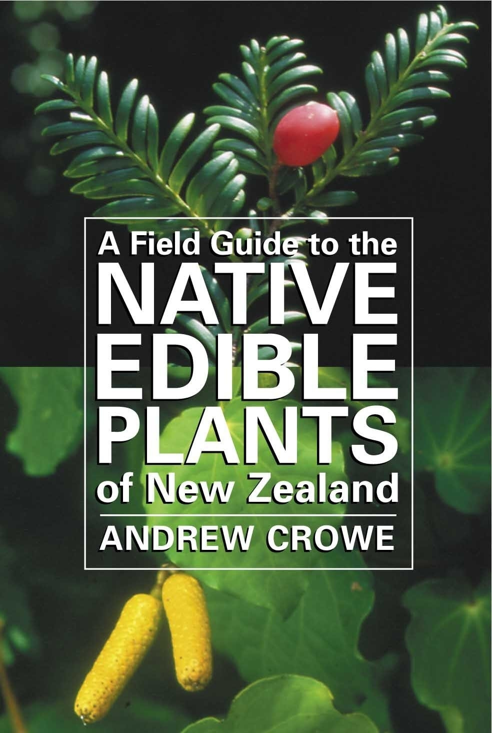 A Field Guide to the Native Edible Plants of New Zealand by Andrew Crowe image