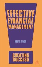 Effective Financial Management by Brian Finch image