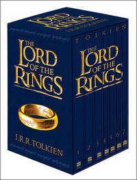 The Lord of the Rings Boxed Set (Film Tie-In) 7 Books by J.R.R. Tolkien