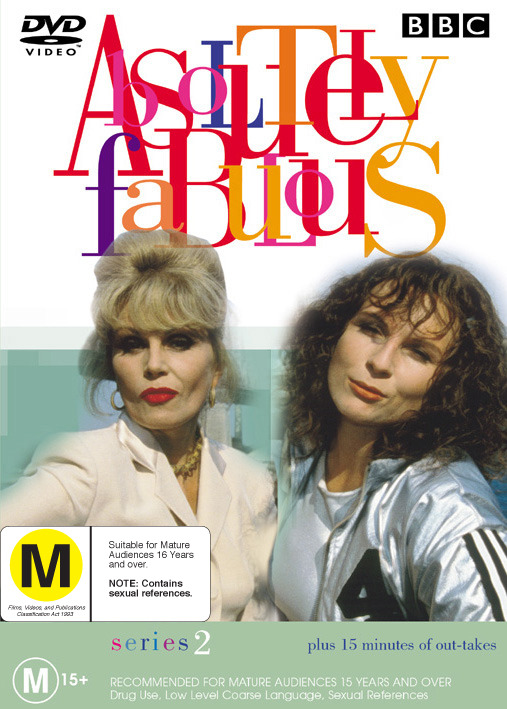 Absolutely Fabulous Series 2 on DVD image