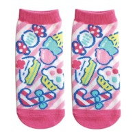 Sanrio: Fresh Punch (White x Pink) - Ladies Socks