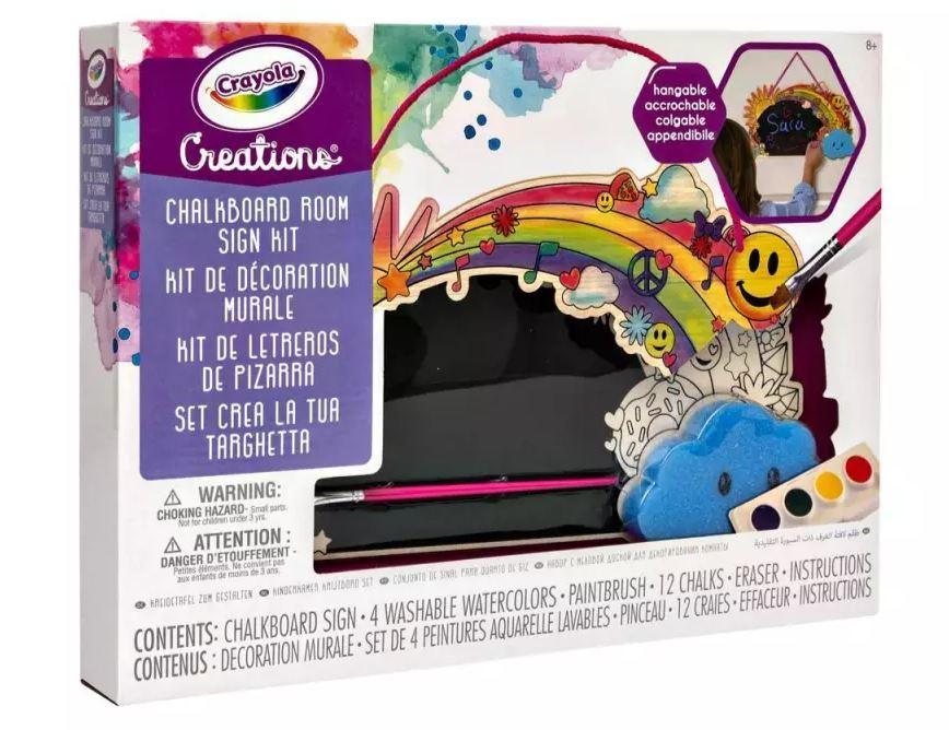 Crayola: Creations - Chalkboard Room Sign Kit image