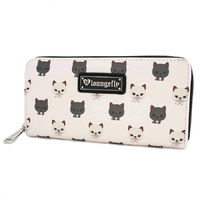 Loungefly - Cats Zip-Around Wallet