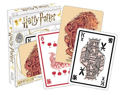 Harry Potter: Playing Card Set - Gryffindor