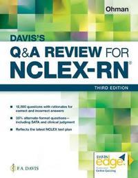 Davis's Q&A Review for NCLEX-RN (R) by F a Davis