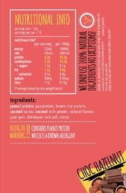 Macro Mike PB+ Powdered Peanut Butter - Choc Hazelnut (180g)