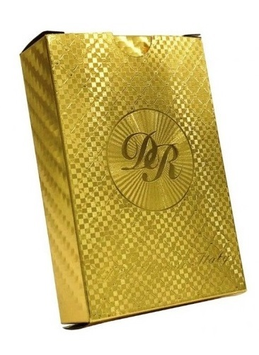 Dal Rossi: Gold Plated - Luxury Playing Cards