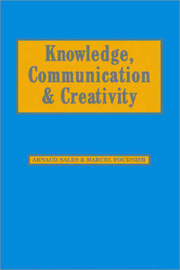 Knowledge, Communication and Creativity image