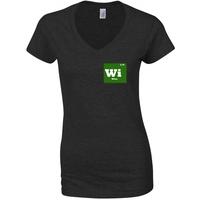 Breaking Bad Wire Black Women's T-Shirt (Large)