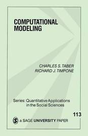 Computational Modeling by Charles S Taber image