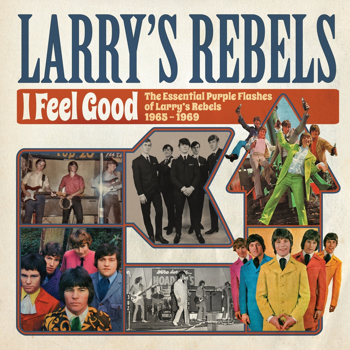 I Feel Good by Larry's Rebels image
