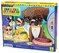 The Orb Factory: Sticky Mosaics - Playful Puppies