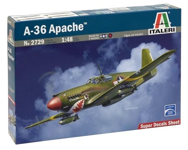 Italeri: 1:48 A-36 Apache - Model Kit