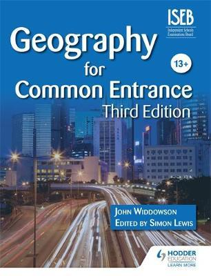 Geography for Common Entrance Third Edition by John Widdowson image