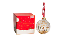 Christmas Glitter Baubles (Assorted Design)