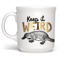 Fred Say Anything Mug - Keep It Weird