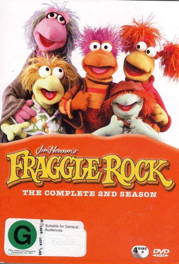Fraggle Rock (Jim Henson's) - Complete Season 2 (4 Disc Box Set) on DVD image