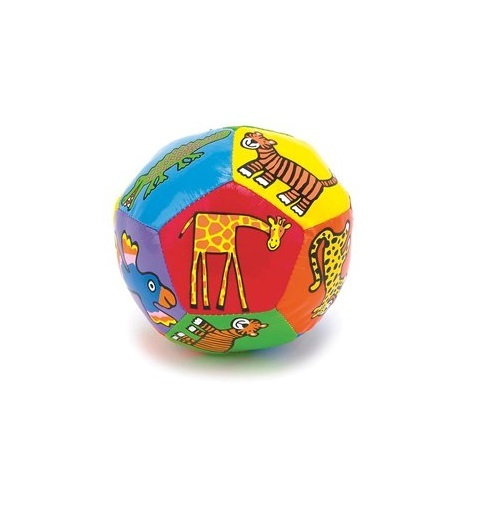 Jellycat Jungly Tails Boing Ball image