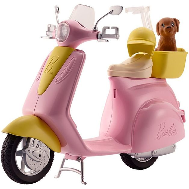 Barbie: Pink - Doll Scooter
