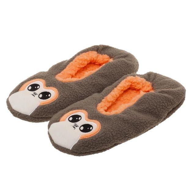 Star Wars: The Last Jedi - Porg Cozy Slippers (L/XL)