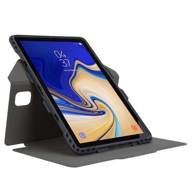 Targus: Pro-Tek Rotating Case Samsung Galaxy Tab S4 - Blue